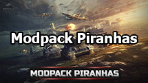 Modpack Piranhas for World of Tanks 1.9.0.3