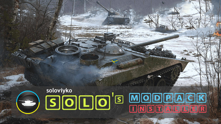 Solo's Easy ModPack for World of Tanks 1.10.1.0