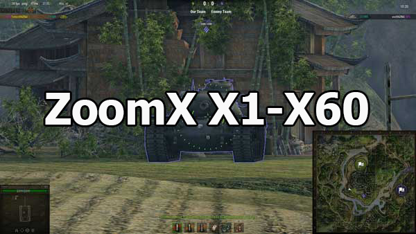 ZoomX X1-X60: Multitiple sniper mode for World of Tanks 1.7.0.2