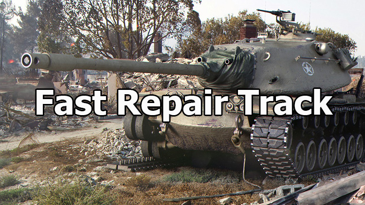 "Mod ""Fast Repair Track"" for World of Tanks 1.11.0.0"