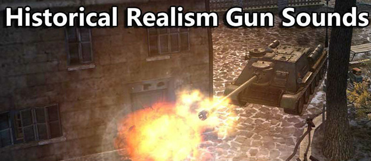 "Sound mod ""Realism gun shots"" for World of Tanks 1.11.1.3"