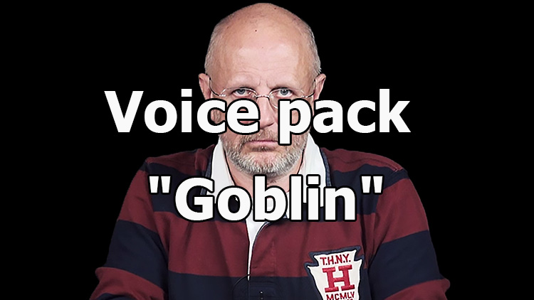 "Voice pack ""Goblin"" for World of Tanks 1.7.1.0"