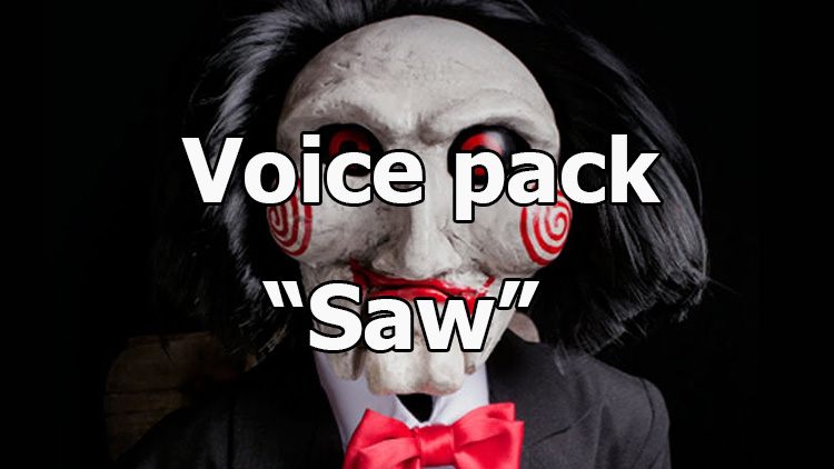 "Voice pack from the movie ""Saw"" for World of Tanks 1.10.0.0"