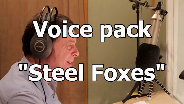 "Voice pack ""Steel Foxes"" for World of Tanks 1.10.0.2"