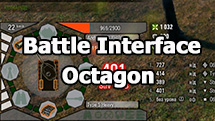 "Battle Interface ""Octagon"" for World of Tanks 1.9.1.2"