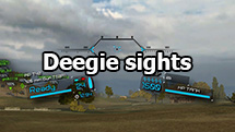 "Korean ""Deegie sights"" for World of Tanks 1.10.1.4"