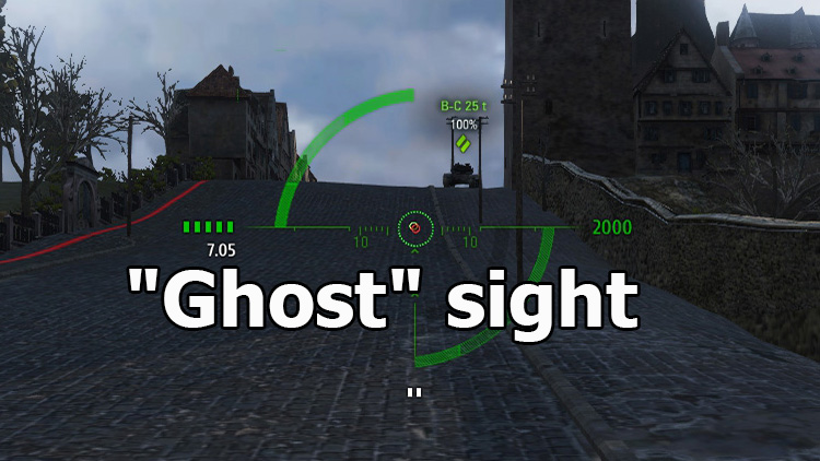 """Ghost"" sight for World of Tanks 1.10.1.4"