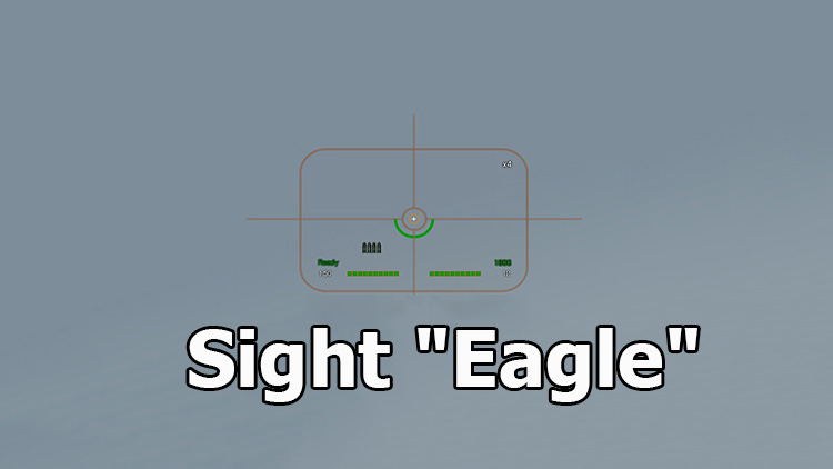 "Sight ""Eagle"" for World of Tanks 1.10.1.0"