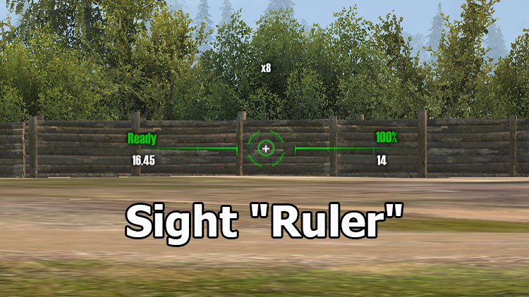 Great Ruler Sight for World of Tanks 1.9.0.3