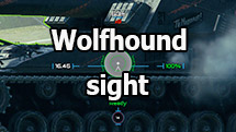 Wolfhound sight for World of Tanks 1.10.1.4