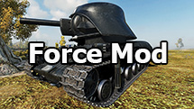 """Force Mod"" remodel for World of Tanks 1.2.0.4"