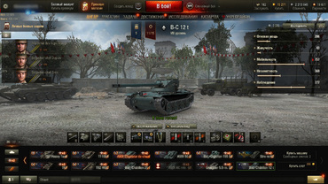 "Hangar ""Victory Day"" (May 9) for World of Tanks"