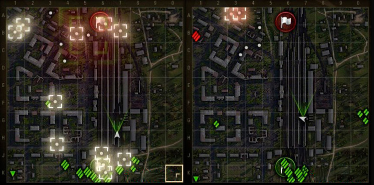 "Mod ""Fallen trees and destroyed objects"" for World of Tanks"