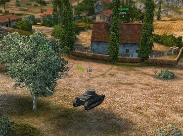 Removal of projectile objects for World of tanks