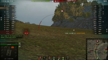 """ATAC"" mod - enemy indicator for World of Tanks"