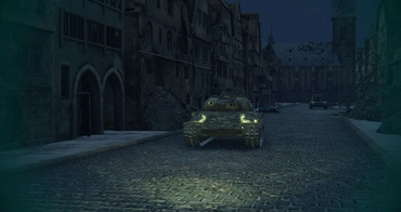 "Atmospheric mod ""Night War"" for World of Tanks"