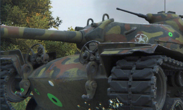 Colored decals from shell hits (Damage Stickers) for WOT