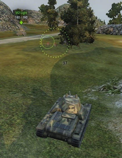 "Mod ""Dispersion Circle"" for World of Tanks"