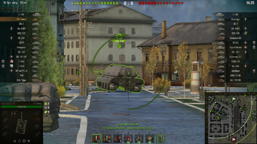 Armor penetration indicator mod for World of Tanks