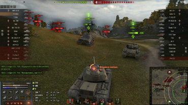 "Damage panel ""Speed"" for World of Tanks"