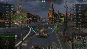 "Informative sight ""Animated-6"" for World of Tanks"