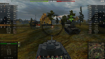 Black sight CS style for World of Tanks