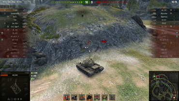 "Gun sight ""Fatality"" for World of Tanks"