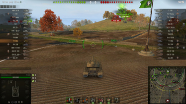 "Sight ""Taipan 2"" new version for World of Tanks"