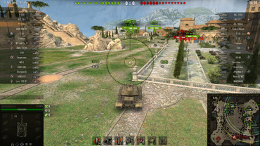 "Special gun sight ""Desertod"" for World of Tanks"