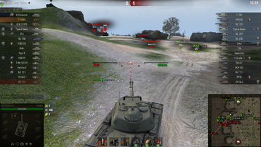 "New minimalist sights ""Storm"" for World of Tanks"