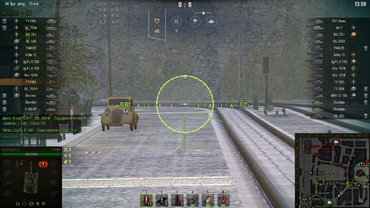 "New version ""Sniper"" sight for World of Tanks"