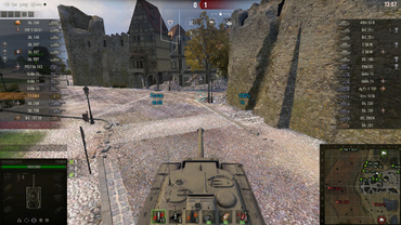 "Gun sights pack ""Turquoise"" for World of Tanks"