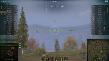 "Sniper Scope ""Destroyer"" for World of Tanks"