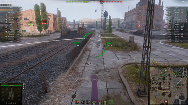 "Sight ""Compass"" for World of Tanks"