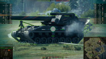 Wolfhound sight for World of Tanks
