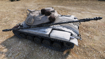 """Force Mod"" remodel for World of Tanks"