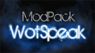 Wotspeak modpack for World of Tanks 1.10.1.4