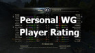 Personal WG Player Rating for World of Tanks 1.11.0.0
