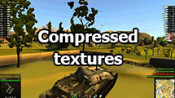 Compressed textures for weak computers WOT 1.3.0.1