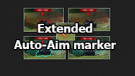 "Mod ""Extended Auto-Aim marker"" for World of Tanks 1.10.0.4"