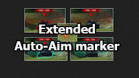 "Mod ""Extended Auto-Aim marker"" for World of Tanks 1.11.0.0"