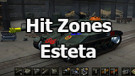 Skins hit zones Esteta (Sergey Emets) for WOT 1.8.0.1