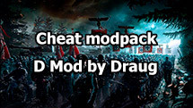 Minimalistic cheat modpack D Mod by Draug for World of Tanks 1.10.1.4