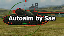 AutoAim by Sae for World of Tanks 1.10.1.4