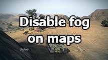 Disable fog on maps and inrease visibility range for WOT 1.10.0.4