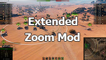 Extended Zoom Mod for World of Tanks 1.10.0.0