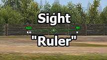 Great Ruler Sight for World of Tanks 1.6.1.3